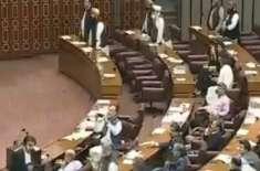 قومی اسمبلی اجلاس کے دوران قانون کی خلاف ورزی پر سپیکر کی لیگی رہنما ..