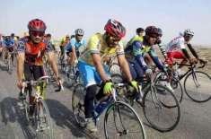 سید عاقب علی شاہ نے کشمیر ڈے سائیکل ریس جیت لی