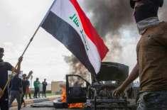 بغداد میں حکومت مخالف مظاہرین کے کیمپ پر مسلح افراد کا حملہ 12 افراد ..
