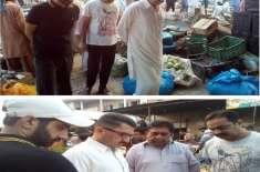 اشیاء ضروریہ کی قیمتیں حکومت کی جانب سے جاری کردہ ریٹ لسٹ کے مطابق فروخت ..