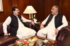 الیکشن کمیشن کے ممبران کی تعیناتی کا معاملہ ،صادق سنجرانی کی اسد قیصر ..
