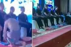 چین میں کمپنی سی ای اوز نے محنتی ملازمین کے پاؤں دھوئے۔ ویڈیو وائرل