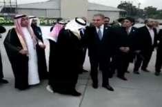 سعودی وزیر خارجہ عادل الجبیر کا شاہ محمود قریشی نے استقبال کیا