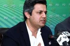 سابق وزیر خزانہ پنجاب 1300 ارب روپے کا خسارہ چھوڑ کر گئی ہیں، حماد اظہر