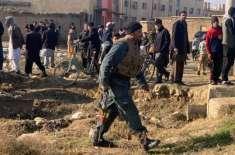 افغانستان میں حملے' بارودی سرنگ پھٹنے اور ٹریفک حادثہ میں سات7پولیس ..