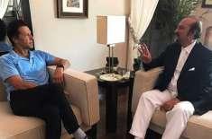 بابر اعوان کی وزیراعظم عمران خان سے ملاقات، وزارتِ اطلاعات ملنے کا ..