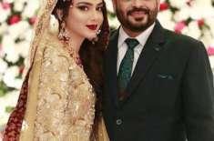 ڈاکٹرعامر لیاقت حسین اور اہلیہ سیدہ طوبیٰ عامر نے اپنی شادی کی پہلی ..