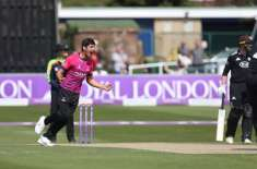 mir hamza becomes the first Sussex player to take four wickets on List A debut