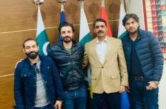 حمزہ علی عباسی کی ڈی جی آئی ایس پی آر سے ملاقات