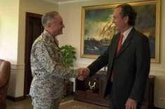 ارجنٹائن کے سفیر کی پاک بحریہ کے سربراہ ایڈمرل ظفر محمود سے الوداعی ..