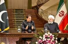 وزیراعظم عمران خان کی ایرانی صدر حسن روحانی سے ملاقات