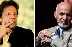 وزیراعظم عمران خان کا افغان صدر اشرف غنی سے ٹیلی فون پر رابطہ
