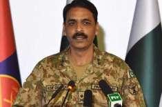 کراچی میں صورتحال آج بہت بہترہے. ڈی جی آئی ایس پی آر