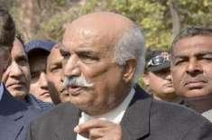 سید خورشید شاہ کا صدارتی نظام لانے کی خبروں پر سخت تشویش کا اظہار