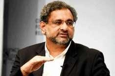 شاہد خاقان عباسی کا ملک میں نئے انتخابات کے انعقاد کا مطالبہ