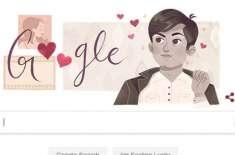 چاکلیٹی ہیرووحید مراد کی سالگرہ' گوگل ڈوڈل کا خراج تحسین