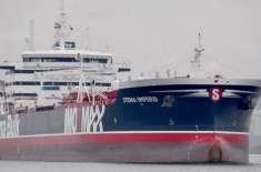 ایران نے تحویل میں لیے گئے دو برطانوی تیل بردار جہازوں میں سے ایک چھوڑ ..