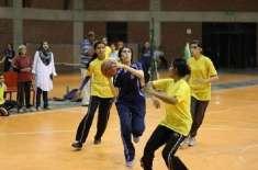 5 روزہ انٹر ڈویژنل ویمن باسکٹ بال چیمپئن شپ 9 اکتوبر سے سرگودھا میں شروع ..