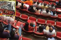 فواد چودھری نے مودی کے جلسے میں خالی کرسیوں کی تصویر شیئرکردی