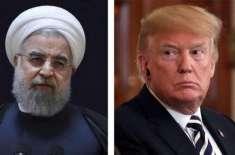 ایران کے ساتھ جنگ کے حق میں نہیں ہوں،ٹرمپ کا اپنے مشیروں کو پیغام