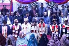 منہاج ویلفیئر فاؤنڈیشن کے زیر اہتمام شادیوں کی اجتماعی تقریب 24 مارچ ..