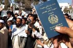 پاکستان میں اس وقت رجسٹرڈ افغان مہاجرین کی تعداد 1کروڑ 40لاکھ ہی3لاکھ ..