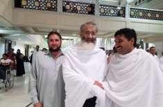 امیر جماعت اسلامی سینیٹر سراج الحق سعودی عرب سے وطن واپس پہنچ گئے