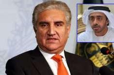 پاکستان کو جنگ کی دھمکیوں پر متحدہ عرب امارات کی بھی بھارت کو شٹ اپ ..