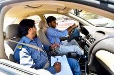 دُبئی کے بعد ابو ظہبی میں بھی سمارٹ ڈرائیونگ ٹیسٹ سسٹم لانچ کر دیا گیا