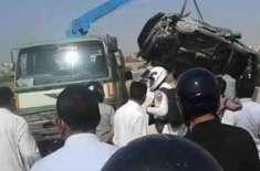 اسلام آباد میں تیزرفتار گاڑی نالے میں جاگری3ہلاک'2زخمی