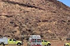 سعودی بہنیں پہاڑ کی چوٹی سر کرنے کے شوق میں مصیبت میں پھنس گئیں