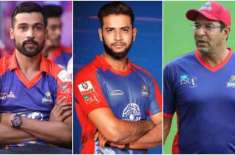 Lahore Qalandars-Karachi Kings spat: Complaint filed against Wasim Akram, Imad Wasim