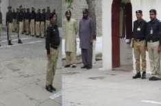 ڈسٹرکٹ جیل میں یوم پاکستان منایا گیا جبکہ جیل کے چاق و چوبند دستہ نے ..