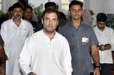 سب ٹھیک ہے تو پھر راہول گاندھی کو کشمیر سے واپس کیوں بھیجا گیا: کانگرس ..