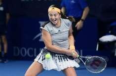 جیلینا اوسٹاپنکو نے لگسمبرگ اوپن ٹینس ٹورنامنٹ جیت لیا