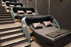 This Swiss Cinema Replaced All Of Their Seats With Double Beds