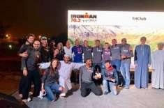 آئرن مین ورلڈ چمپئن شپ کا انعقاد پہلی بار عمان میں ہوا