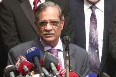 پی کے ایل آئی کے سربراہ ڈاکٹر سعید اختر کے سابق چیف جسٹس ثاقب نثار سے ..