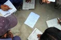 کراچی: انٹر کے امتحانات میں نقل کا سلسلہ جاری، ریاضی ٹو کا پرچہ بھی ..