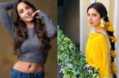 نورا فاتحی نے ماہرہ خان کے ساتھ کام کرنے پرخاموشی توڑدی