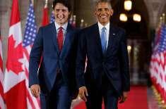 دنیا کو ٹروڈو جیسے ترقی پسند رہنما کی ضرورت ہے، اوباما