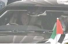 متحدہ عرب امارات کے ولی عہد کی آمد پر عمران خان نے خود ان کی گاڑی کیوں ..