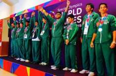 Pakistani Athletes Win 18 Gold Medals at Special Olympics World Games 2019