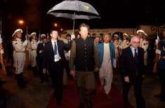 دورہ چین، وزیراعظم عمران خان بیجنگ پہنچ گئے