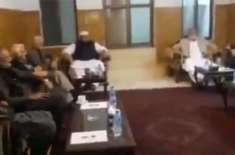 رہبرکمیٹی کے اجلاس میں احسن اقبال، اکرم درانی، نئیر بخاری سمیت اپوزیشن ..