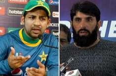 sarfraz should bat at no 5 in world cup: misbah