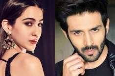 سارہ علی خان اپنے من پسند ہیرو کارتک آرین کے ساتھ بڑے پردے پر نظر آئیں ..