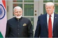 امریکی صدر ڈونلڈ ٹرمپ نے نریندر مودی کو مقبوضہ کشمیر میں کرفیو فوری ..