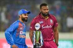 بھارت اور ویسٹ انڈیز کے درمیان تیسرا اور آخری بین الاقوامی ٹی 20 کرکٹ ..