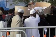 نیوزی لینڈ ،شہید ہونے والے 8 پاکستانی شہریوں کوسپر دخا ک کردیا گیا